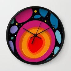 Galaxy Abstract Pattern Minimalist Decoration Wall Clock