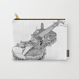 Violin City Carry-All Pouch