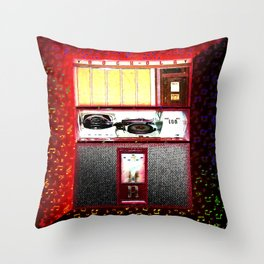 ROCKOLA Throw Pillow