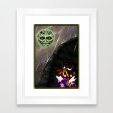 Pixel Art series 19 : 3 DAYS Framed Art Print