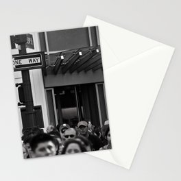 Unknown Faces In Different Places (Pt 14 - NYC, NY) Stationery Cards