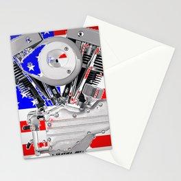 Old Glory Shovel Stationery Cards