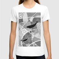 narwhal T-shirts featuring Narwhal by K J Guindon