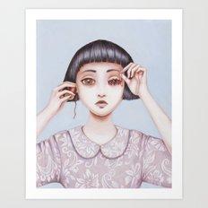 human emotion Art Print