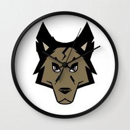 Knightwolf Logo Wall Clock