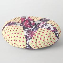 Hopkin's Bedtime - Orange Star Floor Pillow