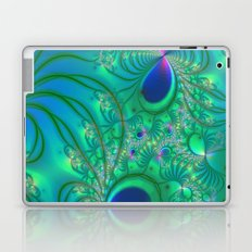 Peacock Paradise Laptop & iPad Skin