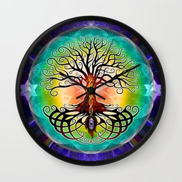 Tree Of Life Wall Clock