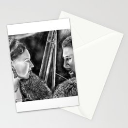 """""""What we do in this life, Echoes in eternity"""" Stationery Cards"""