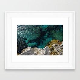 Cyprus Sea III Framed Art Print