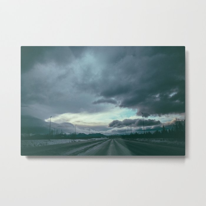 Bound to the Road Metal Print