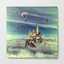 Laputa - Castle in the Sky Metal Print