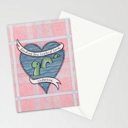 Nessie Valentine Stationery Cards