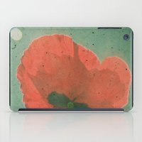 poppy iPad Cases featuring Poppy by Cassia Beck