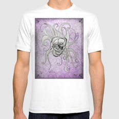 Luz's Toronto Spaghetti Monster SMALL White Mens Fitted Tee