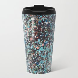 color de lluvia.dripping water, rain color Travel Mug