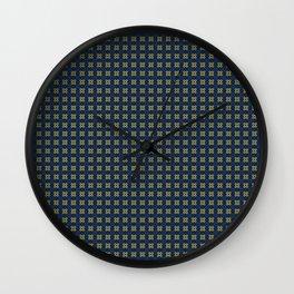 Dkblugldpat Wall Clock