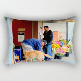 The Morning Constitutional Times Two By Four Rectangular Pillow