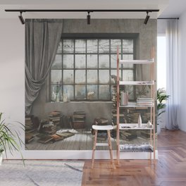 The Introvert Wall Mural