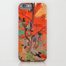 Tom Thomson - Autumn - Digital Remastered Edition iPhone Case