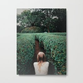 The Labyrinth Metal Print