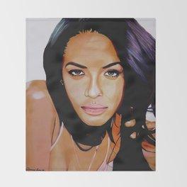 Aaliyah Dana Haughton Throw Blanket