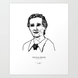 Cecilia Payne Art Print