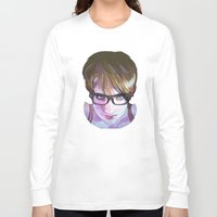 sarah paulson Long Sleeve T-shirts featuring Sarah by Marc Scheff