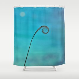 Curl of the Sea Shower Curtain