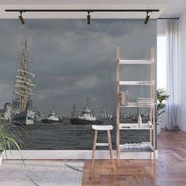 On the water Wall Mural