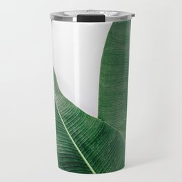 Tropical Banana Leaf Pair Travel Mug