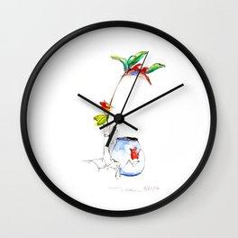 Bird of Paradise 2016 Wall Clock