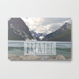 Mountain Breath Metal Print