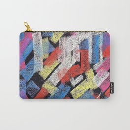 Multicolor construct Carry-All Pouch