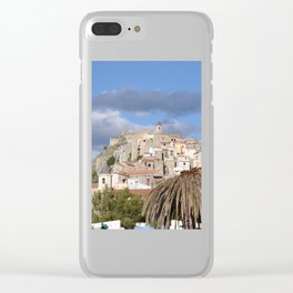 Scalea In Calabria, Italy Clear iPhone Case