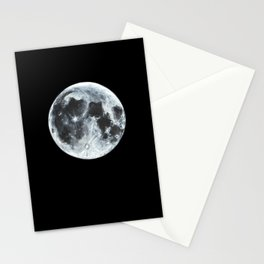 Full Moon Painting Stationery Cards