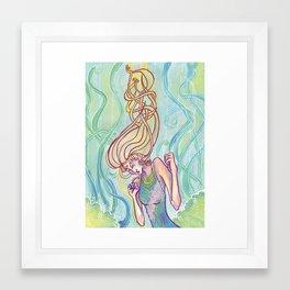 That Sinking Feeling Framed Art Print