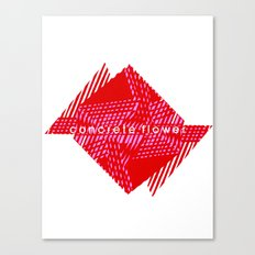 CONCRETE FLOWER Canvas Print