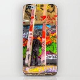 Leake Street Graffiti Artist  iPhone Skin