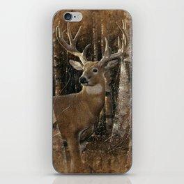 Deer - Birchwood Buck iPhone Skin