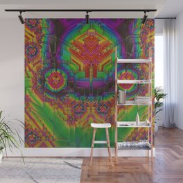 Dynamic Circuitry Wall Mural