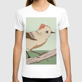 Ruby Crowned Kinglet T-shirt