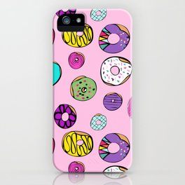 Donuts Dreams iPhone Case