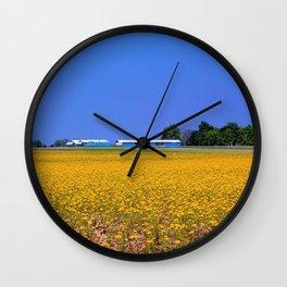 Contrast III Wall Clock