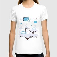 panic at the disco T-shirts featuring Panic! at the Disco - Candle Swans by Shana Marie