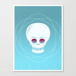 VECTOR SKULL Canvas Print