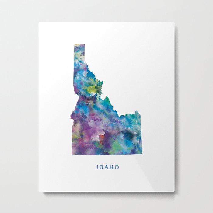 Idaho Metal Print