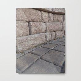 Stone Effect Metal Print