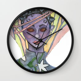 Fatiana the dragonfly fairy  Wall Clock