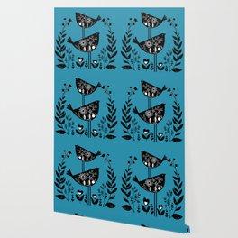 Danish Birds Bring Good Luck And A Good Life Wallpaper